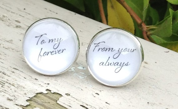 to my forever cuff links