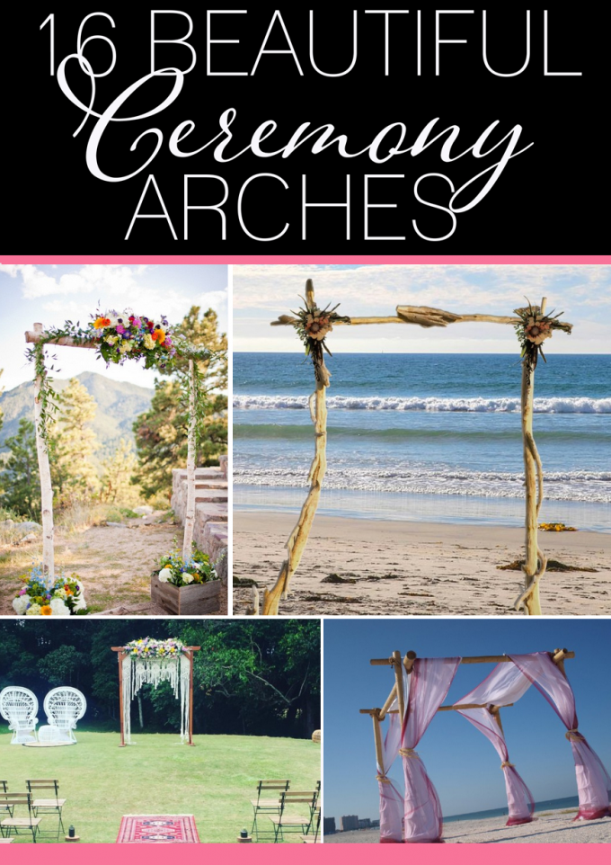 16 Best Ceremony Arches for Weddings | http://emmalinebride.com/ceremony/arches-weddings/