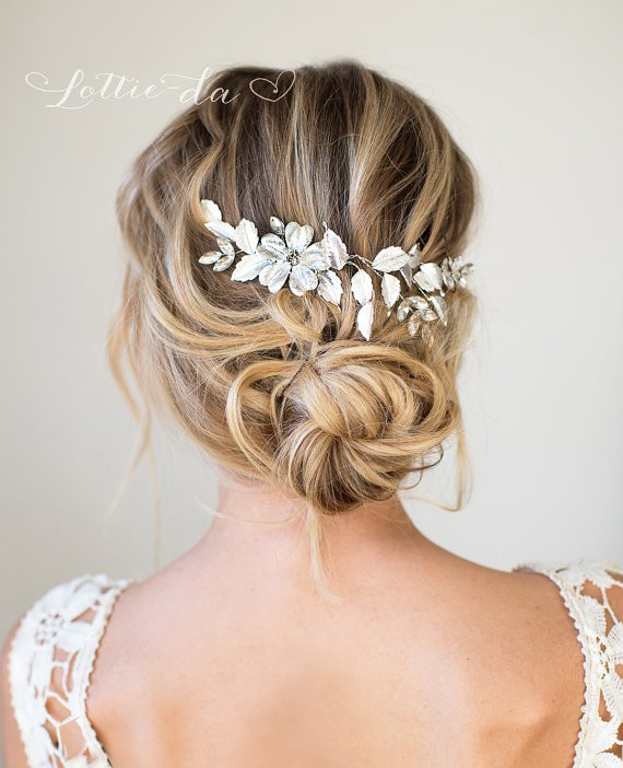 Bridal hairstyles without veil | by lottie-da designs | http://emmalinebride.com/bride/best-bridal-hairstyles