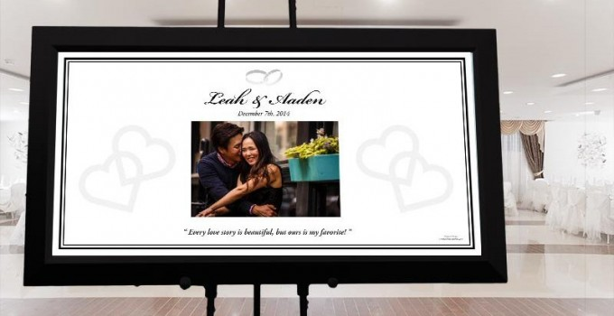 guest book poster