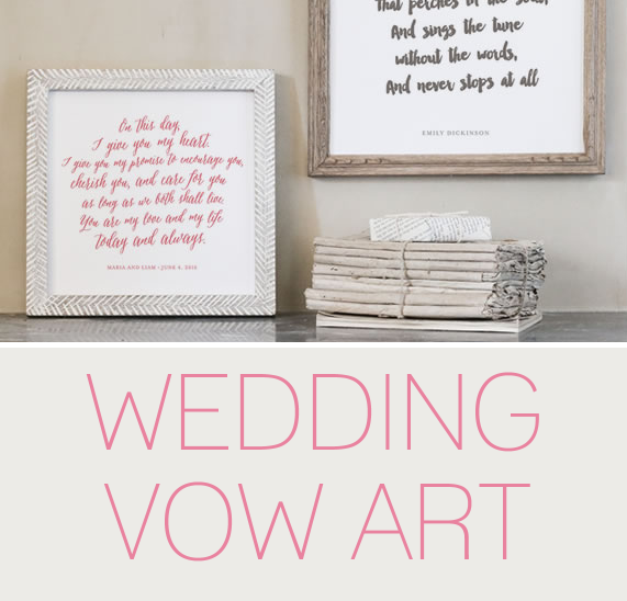 Wedding Vow Art Here S How To Turn Your Vows Into Art