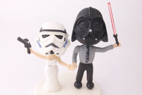 figurine cake topper star wars stormtroopers