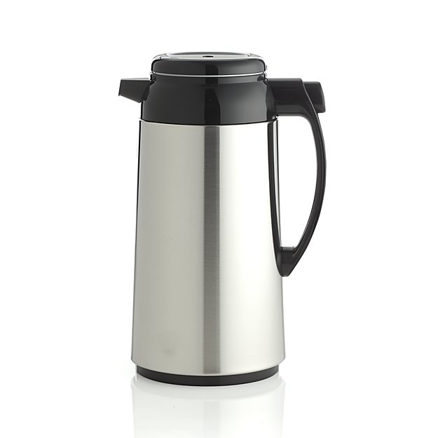 thermal coffee carafe | 9 Things I Wish Had Registered For | http://emmalinebride.com/planning/9-things-wish-had-registered-for/