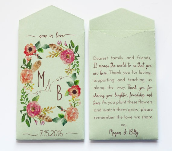 sage seed envelopes | via Sage Wedding Ideas from http://emmalinebride.com/color/sage-green-wedding-ideas/