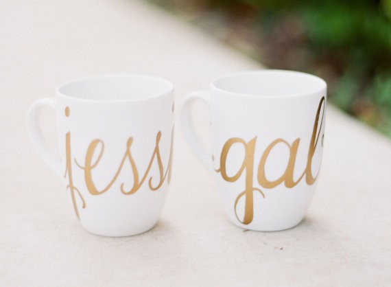 bridesmaid coffee mugs