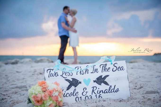 Two Less Fish in the Sea Sign - by iDecor4You | http://emmalinebride.com/2016-giveaway/two-less-fish-in-the-sea-sign/