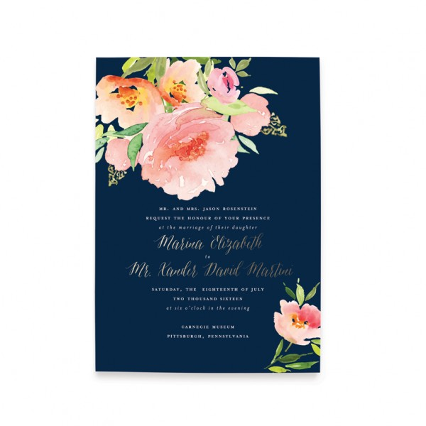 watercolor_floral_botanical_navy_wedding_invitation-600x600