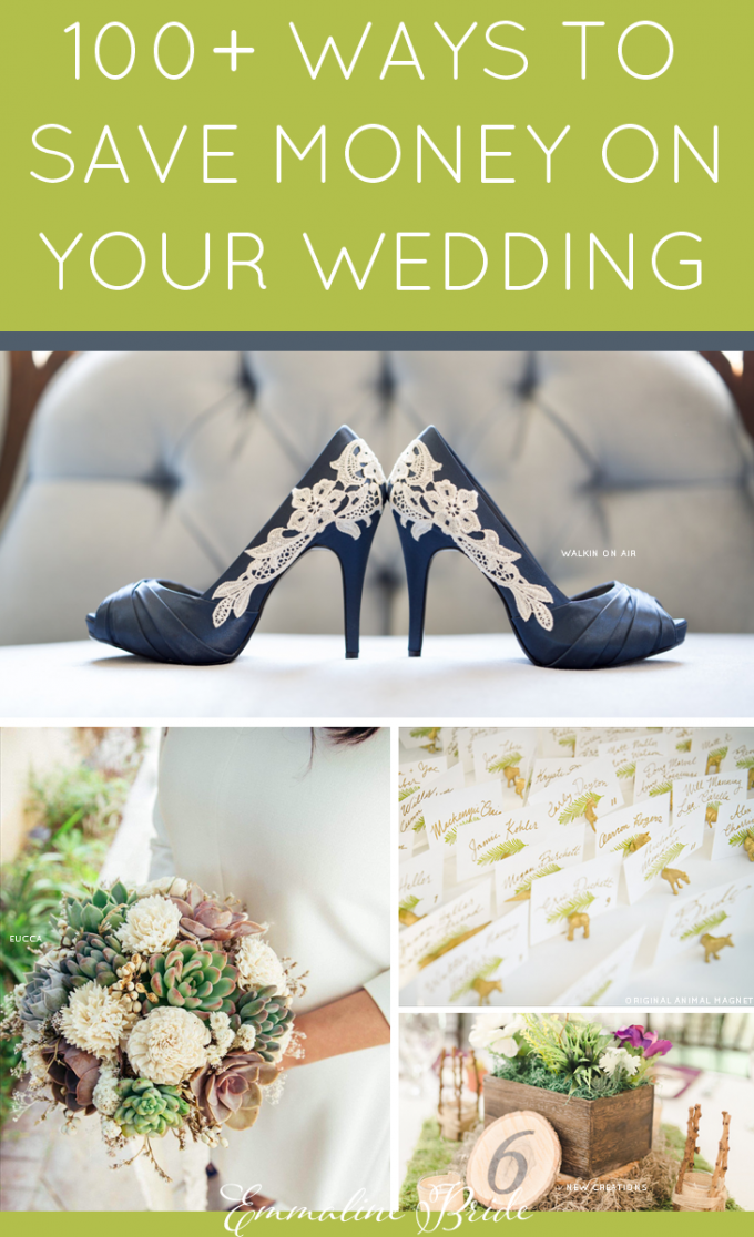 100 Ways to Save Money on Your Wedding
