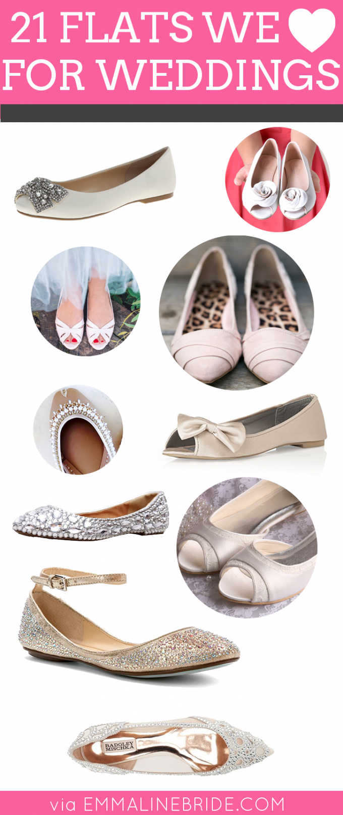 wedding-flats-for-the-bride