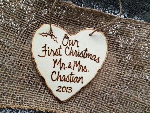 First Christmas Ornament by Prince Whitaker