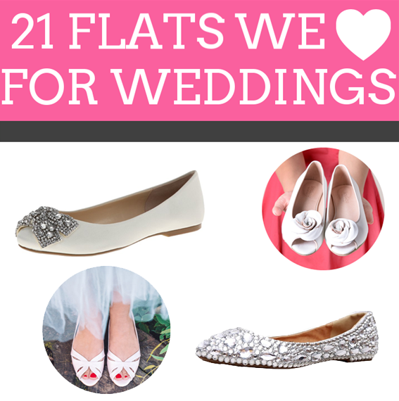 21 Wedding Flats for the Bride | https://emmalinebride.com/bride/wedding-flats-bride/