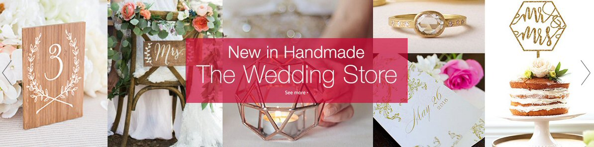 Handmade on Amazon | Choose anything from any store for your Amazon gift registry weddings & more