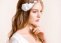 wedding-flower-headpiece-hair-chain-with-white-rose