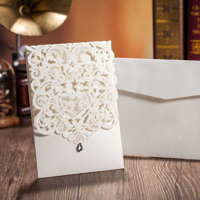 Lace Invitations On Etsy Are Totally Amazing