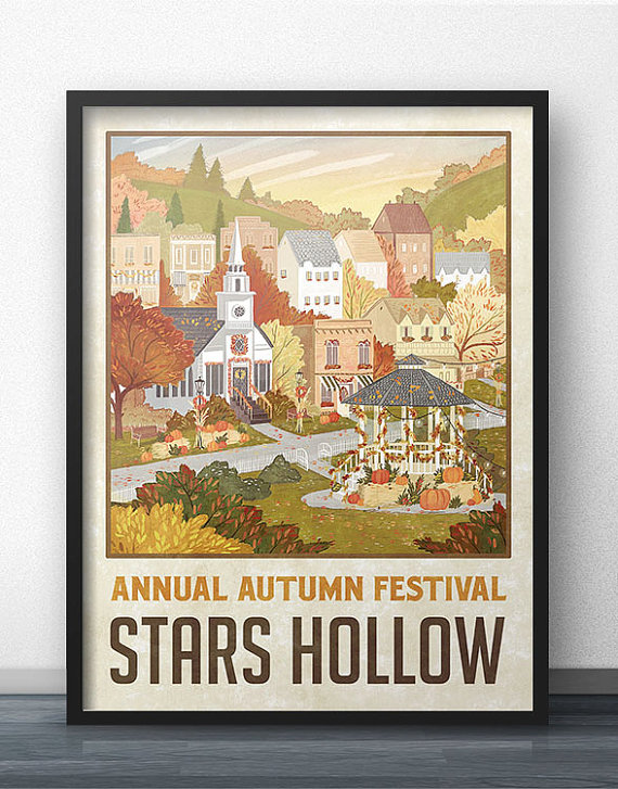 autumn-festival-stars-hollow-poster