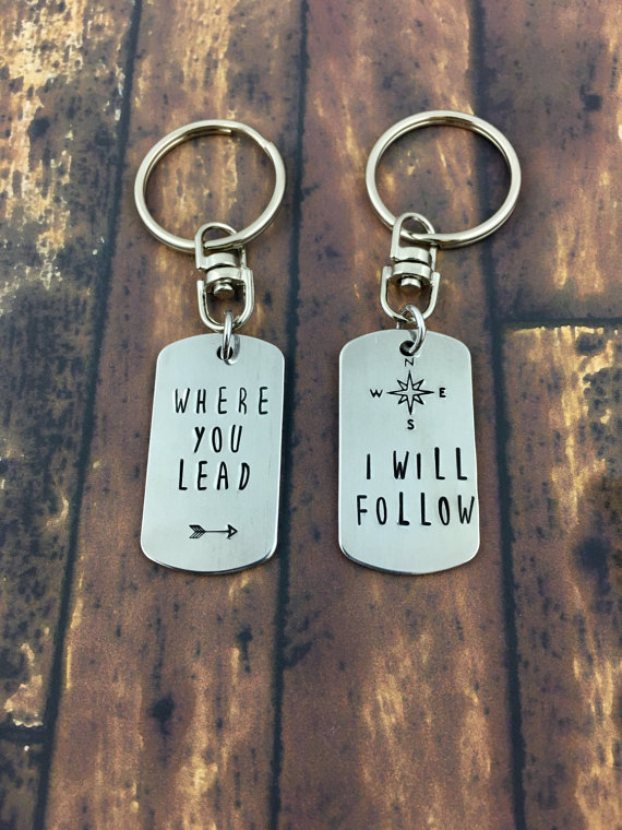 Where You Lead Keychain via 50+ Best Gilmore Girls Gift Ideas http://emmalinebride.com/gifts/50-best-gilmore-girls-gift-ideas/