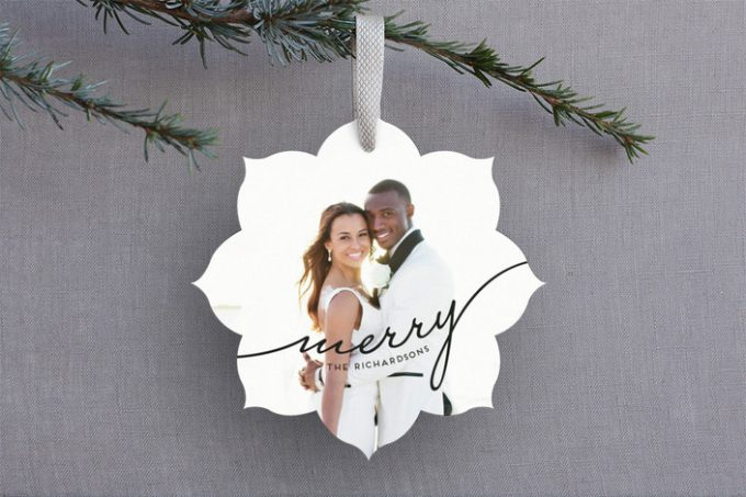 Holiday Cards for Newlyweds by Minted: http://bit.ly/2gd7lZQ
