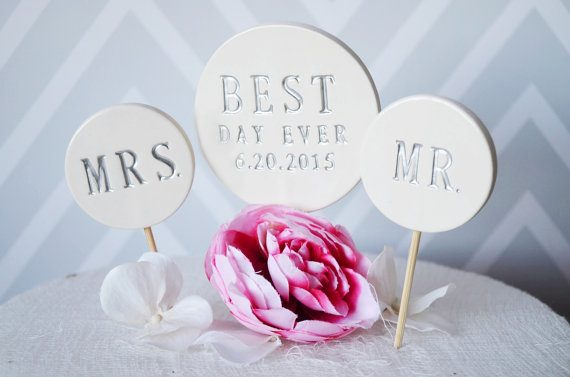 best day ever cake topper by susabellas