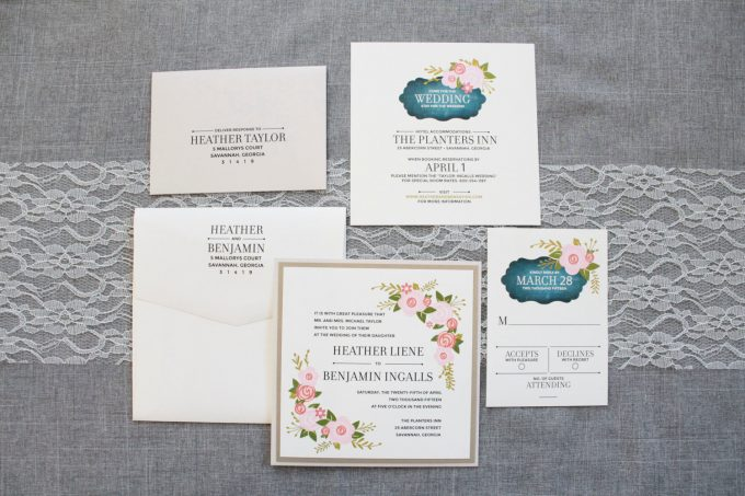 square wedding invitations | by invited by lamaworks, http://etsy.me/2jzCffW | via http://emmalinebride.com/invites/square-wedding-invitations-etsy