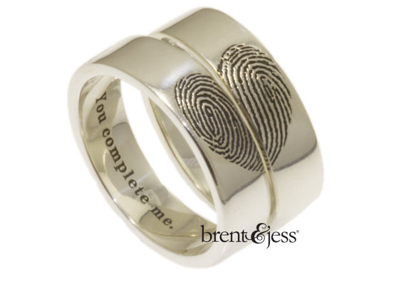 28 Unique Matching Wedding Bands   His & Hers Styles / Couples Rings