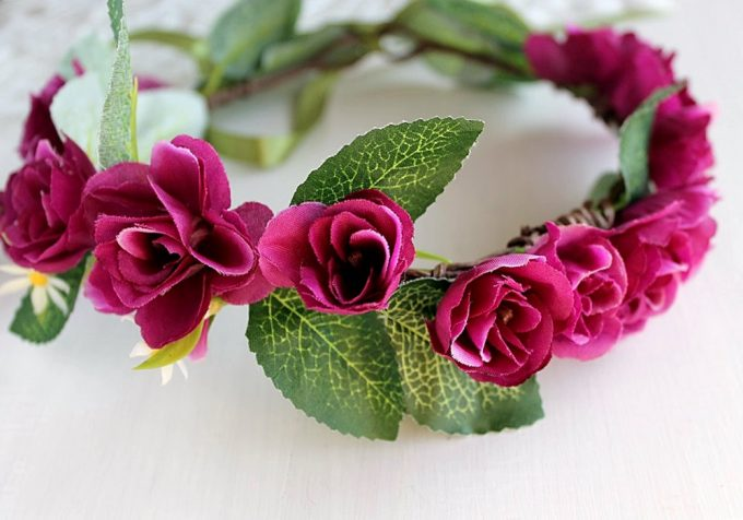 Where To Buy Flower Hair Wreaths For Weddings Http Emmalinebride