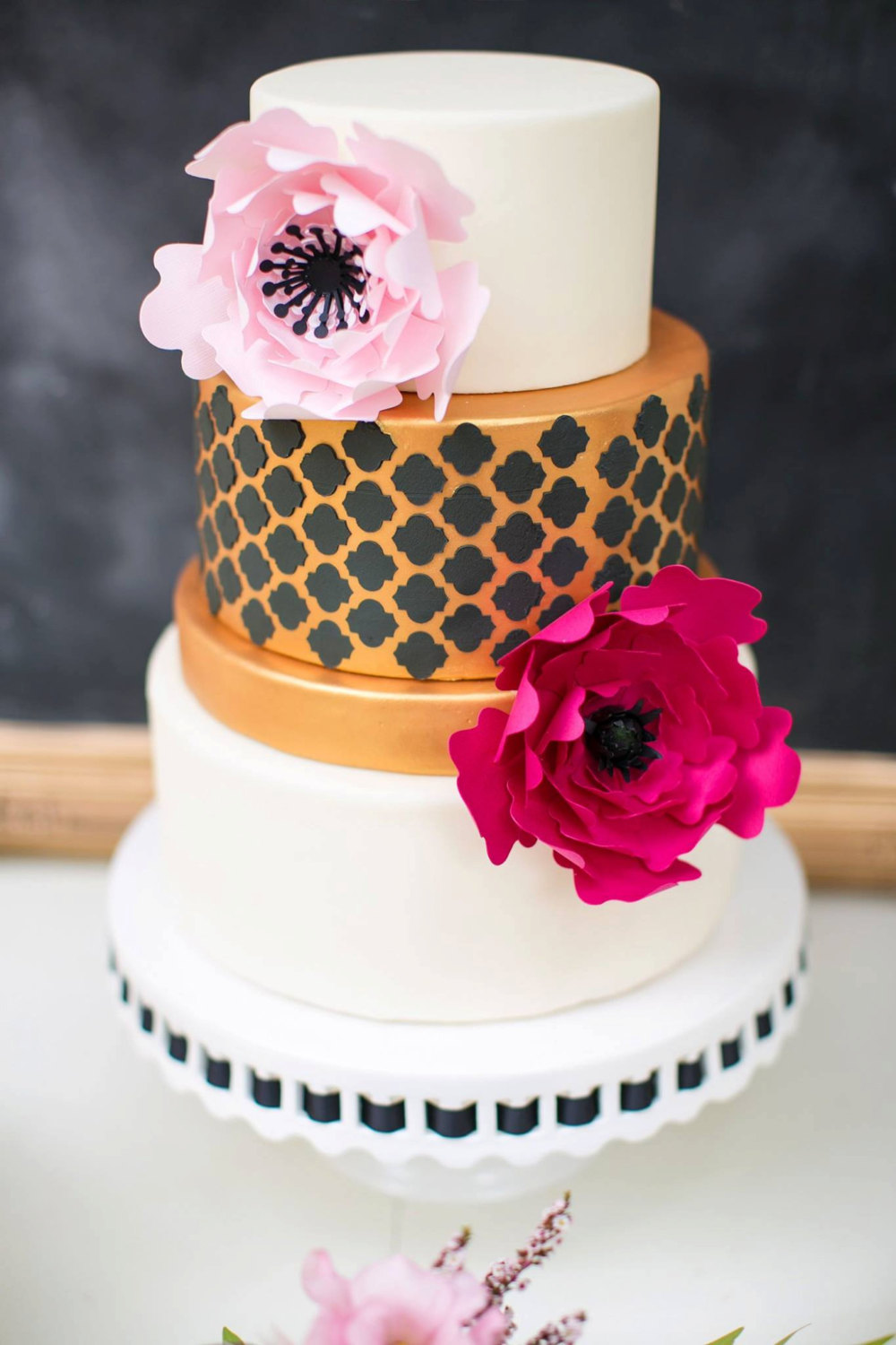 where to buy a cake flower topper