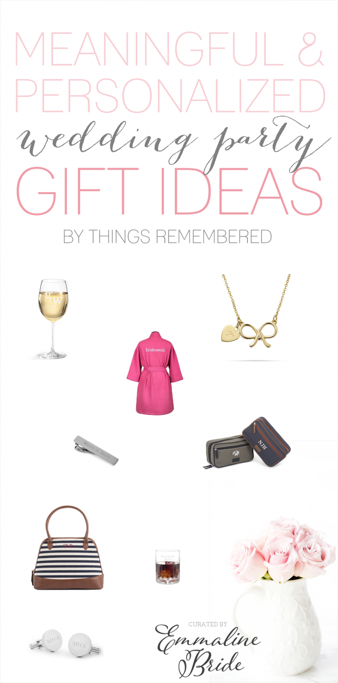 Meaningful Bridesmaid Gifts