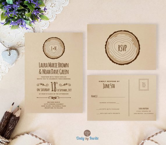 Cheap Wedding Invitation Sets: Cheap Wedding Invitations With RSVP