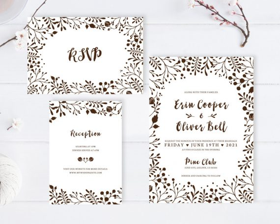 Affordable Wedding Invites: Cheap Wedding Invitations With RSVP
