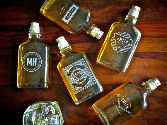 flask via 26 Best Groomsmen Flasks That Make Awesome Gifts