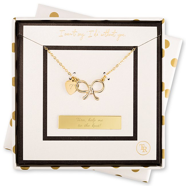 Meaningful bridesmaid gifts and groomsmen gifts from Things Remembered