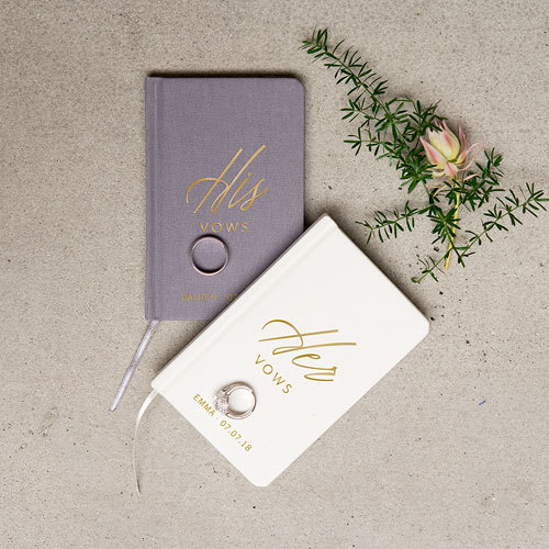wedding vow books