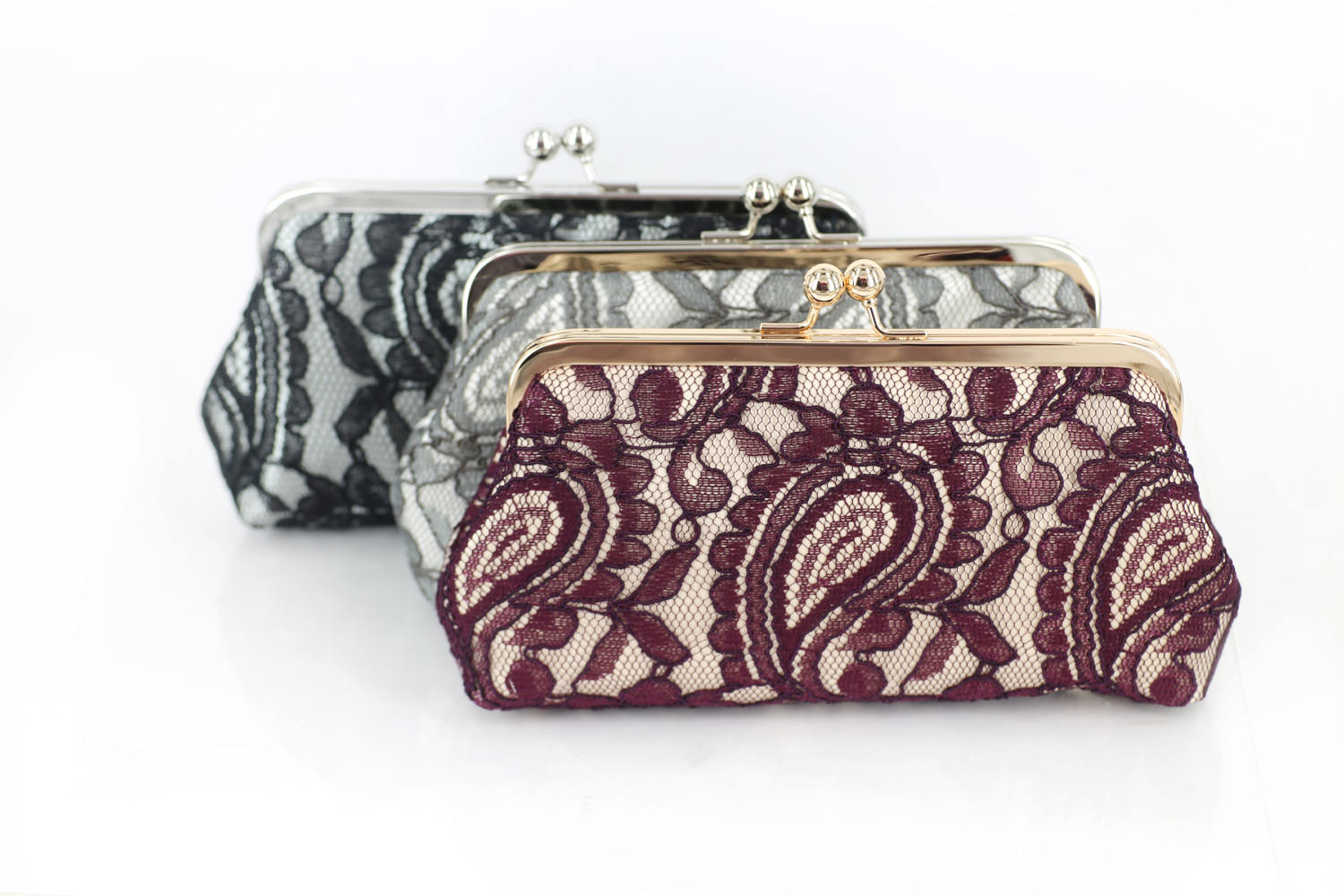 ANGEE W Clutch Purses