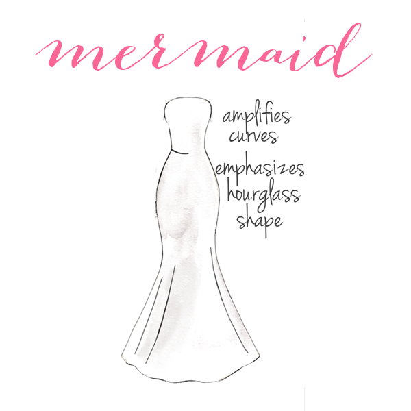Mermaid | How to Choose a Wedding Dress for Your Body Type