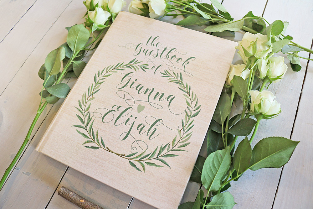 win a guest book! | by paper peach