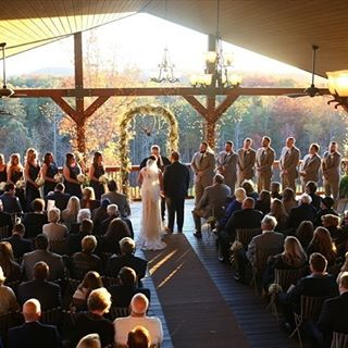 This view ceremonygoals    Photo by melissaprosserphotography Realhellip