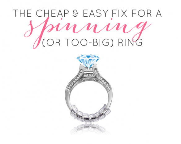 How to fix wedding ring from spinning