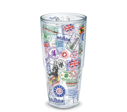 personalized tumblers for bridesmaids, groomsmen, bride and groom, and more | by Tervis | https://emmalinebride.com/how-to/personalized-tumblers-for-bridesmaids