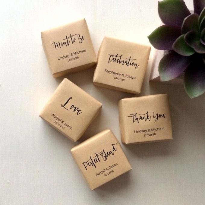 soap favors for bridal showers