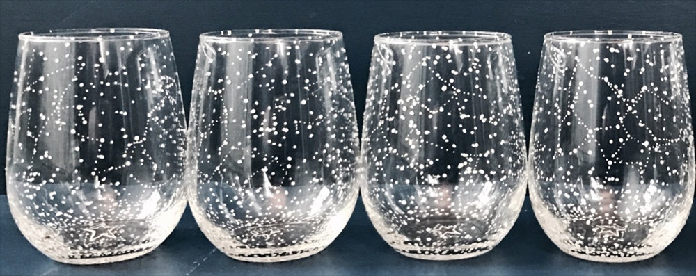 constellation wine glasses