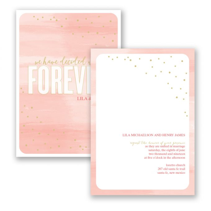 watercolor wedding invitations - where to buy affordable wedding invitations