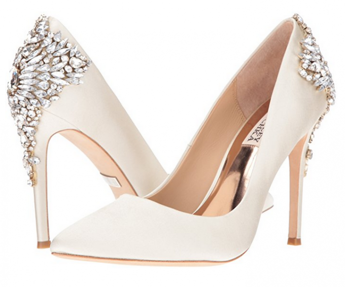 58c3a69ce3d6 I m pretty obsessed with these bridal pumps. According to reviews