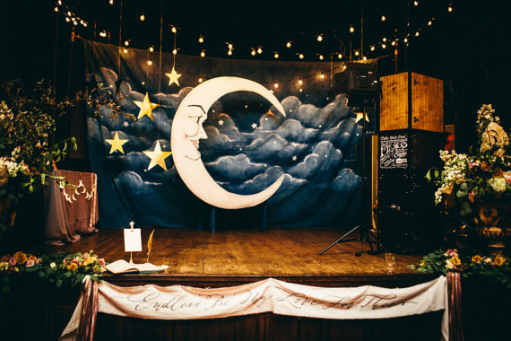 moon themed wedding ideas