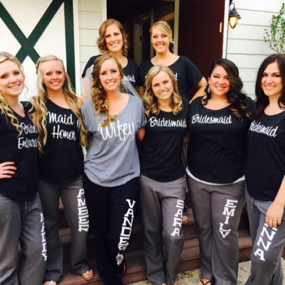 bridal party sweatpants // http://etsy.me/2xvTvxm
