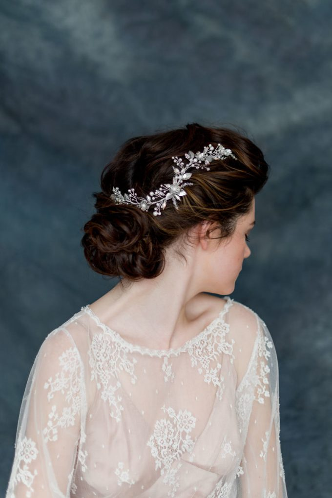 wedding hair vines by blair nadeau millinery