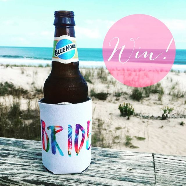 WIN a bride can cooler from dunkirkdesigns! Link in biohellip