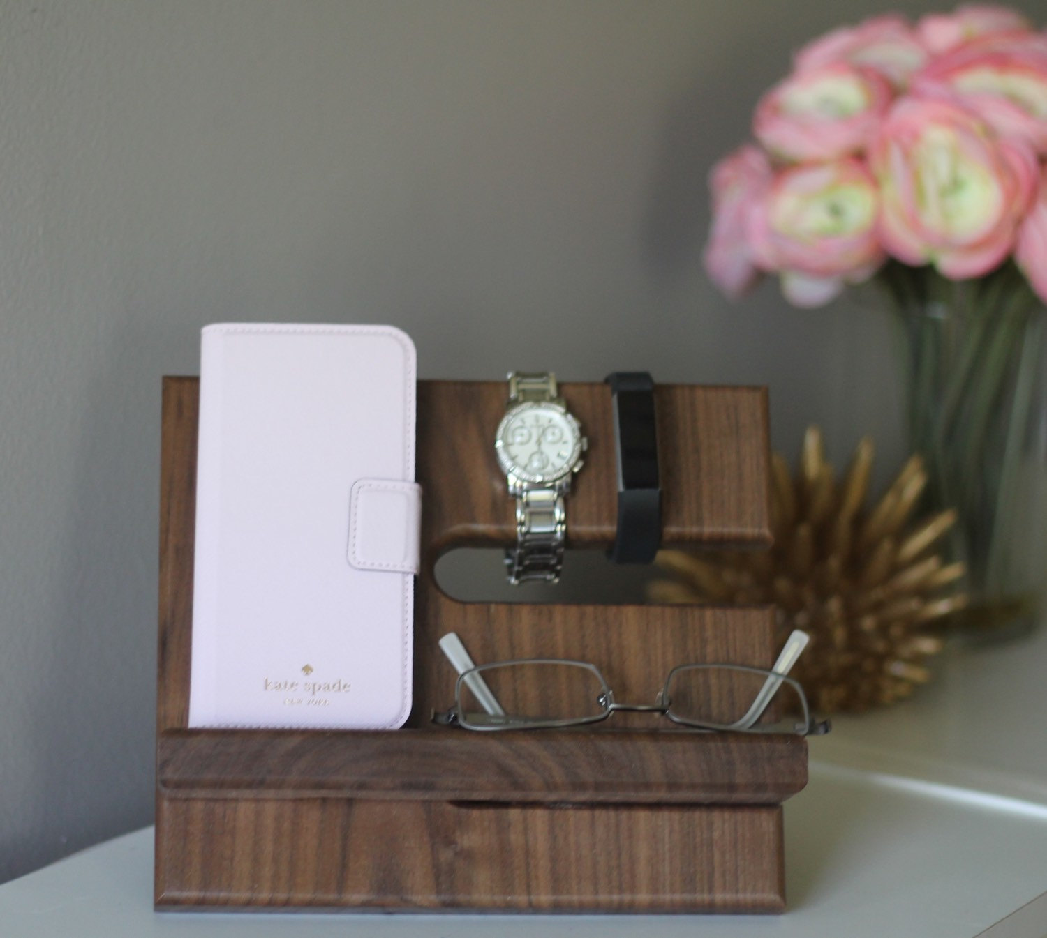 wood phone charging station via http://etsy.me/2F9Dw8W