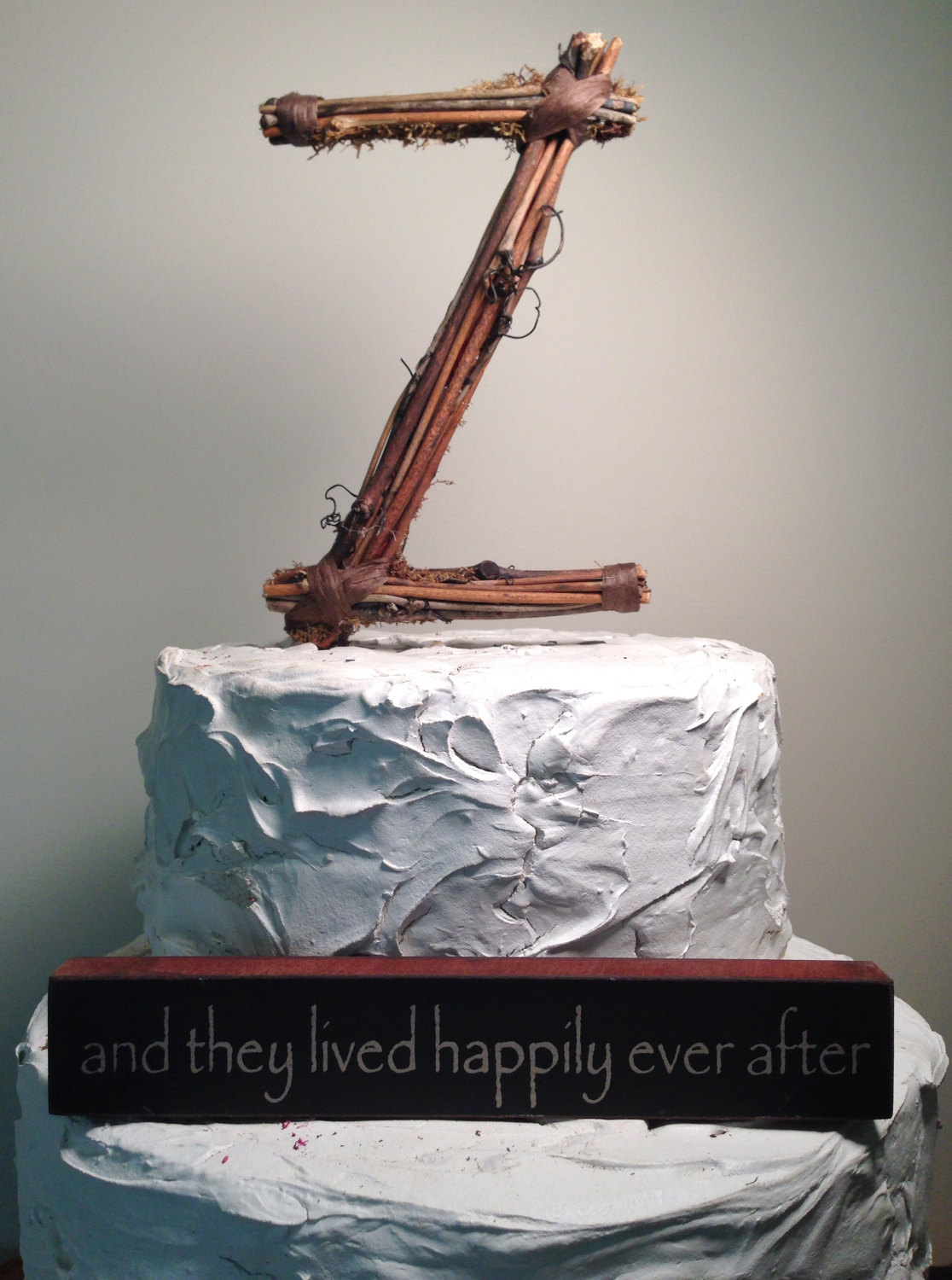 twig cake toppers
