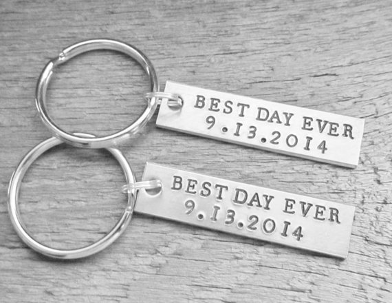 Where to Buy Engraved Keychains? -- Gifts | Emmaline Bride