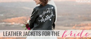 wedding leather jackets